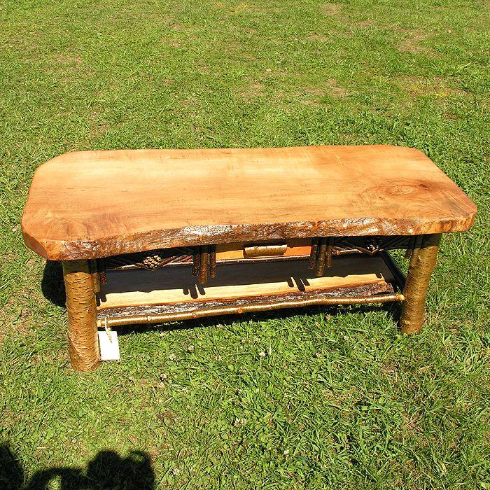 rustic coffee tables adirondack coffee table adirondack wildwood ny. Black Bedroom Furniture Sets. Home Design Ideas