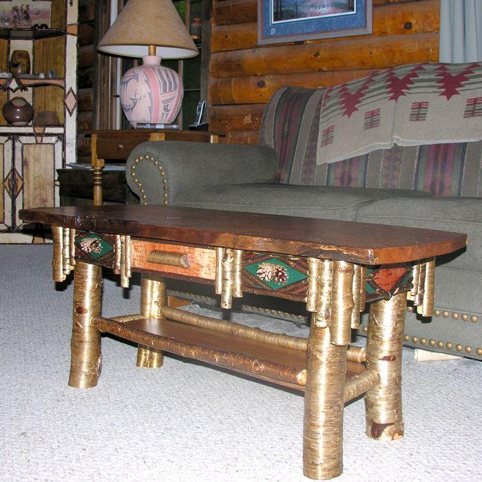 Adirondack Coffee Table Set: Adirondack Coffee Table